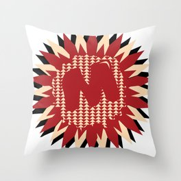 Moulded Rides Puzzle Throw Pillow