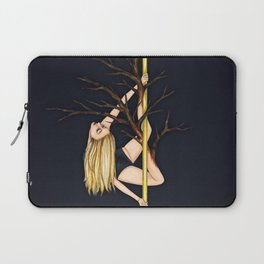 Poletober - Creepy Trees Laptop Sleeve