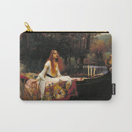 The Lady of Shalott - John William Waterhouse Carry-All Pouch