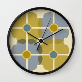 Chanceux Bleu Wall Clock