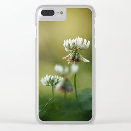 Together at Sunrise. Clear iPhone Case
