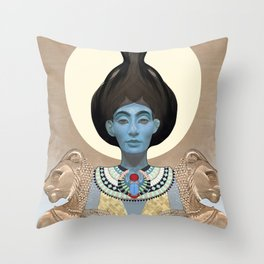 The Hierophant Throw Pillow