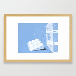 accepting life as it is: the sky Framed Art Print