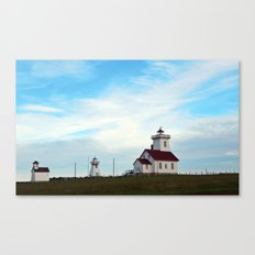Wood Islands Lighthouse Compound Canvas Print