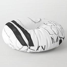 I will always love MTL Floor Pillow