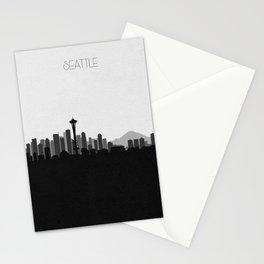 City Skylines: Seattle (Alternative) Stationery Cards