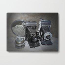 Vintage Lenses. Metal Print