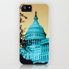 Dystopian DC iPhone Case