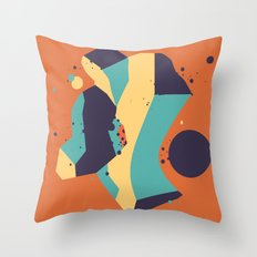 Lifeform #3 Throw Pillow