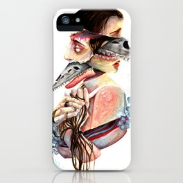 A Monster and Its Pet iPhone Case