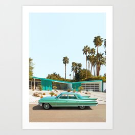 Palm Desert Art Print