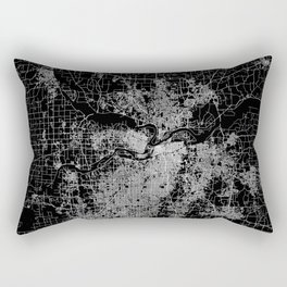 Kansas City map Rectangular Pillow