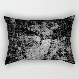 Kansas City map Rectangular Pillow