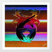 "wings Art Prints featuring "" Wings ""  by shiva camille"