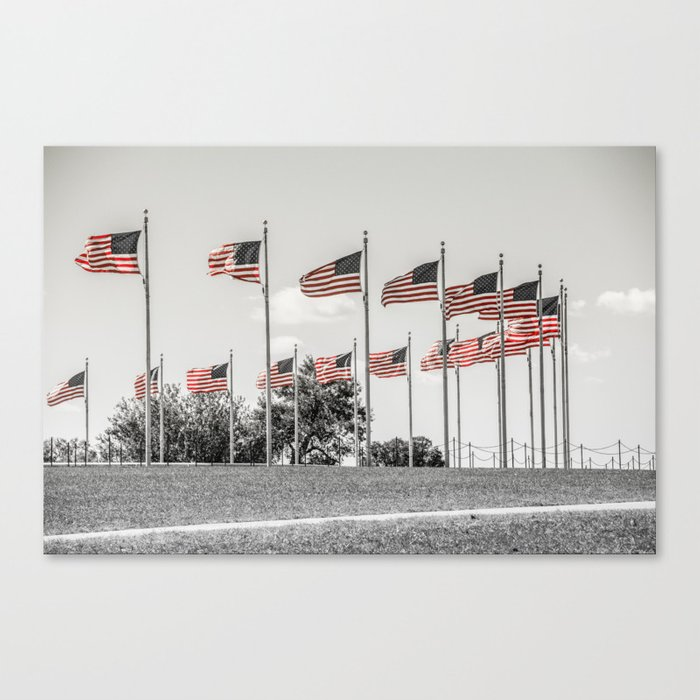 America the Beautiful Canvas Print