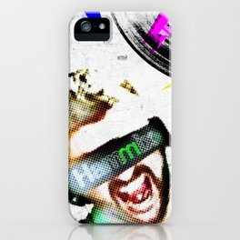 DJ Hammix - The Beat is the Law iPhone Case