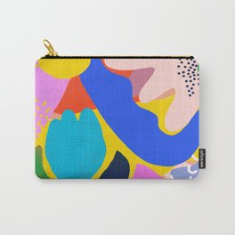 Unbridled Enthusiasm - Shapes and Layers no.38 Carry-All Pouch