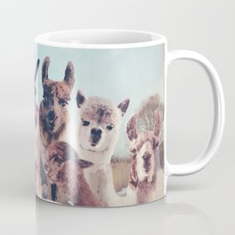 NEVER STOP EXPLORING - HAPPY FAMILY - ALPACA & LLAMA Coffee Mug