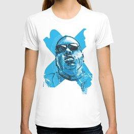 Digital Drawing 33 - Notorious B.I.G. in Blue T-shirt