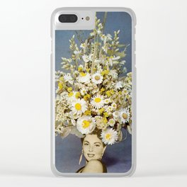 Floral Fashions Clear iPhone Case