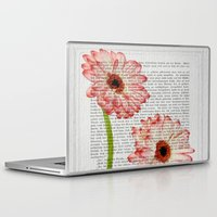 writing Laptop & iPad Skins featuring Old Writing by Susann Mielke