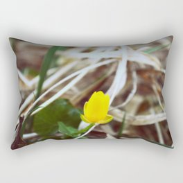 Little yellow Rectangular Pillow