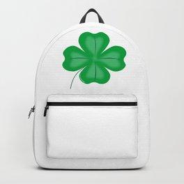 Lucky Four Leaf Shamrock Backpack