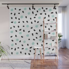 Ink Patterns Wall Mural