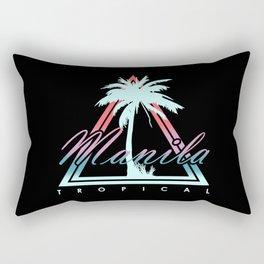 Manila Tropical Rectangular Pillow