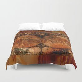 Vintage maps duvet covers society6 rustic old world map duvet cover gumiabroncs Choice Image