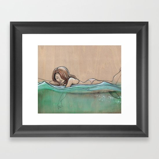Aqualove Framed Art Print