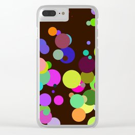 Circles #2 - 03072017 Clear iPhone Case