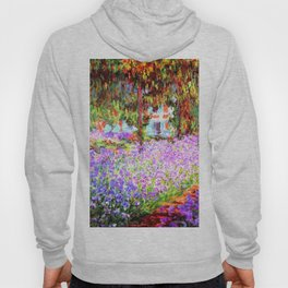Monets Garden In Giverny Hoody