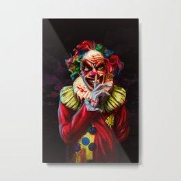 Scariest Clown Metal Print