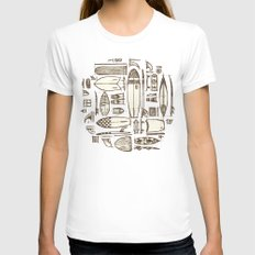 Tools of the Trade SMALL Womens Fitted Tee White