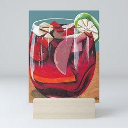 Fruit cocktail Mini Art Print