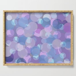 Pastel Pink and Blue Balls Serving Tray