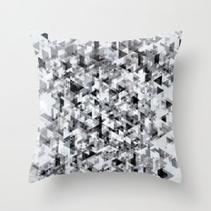 Marble madness Throw Pillow