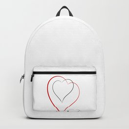 Simple hearts Backpack
