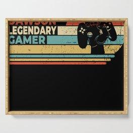 Dawson Legendary Gamer Personalized Gift Serving Tray