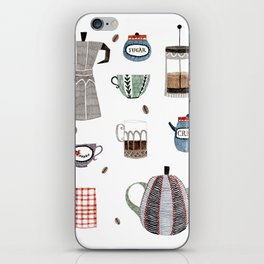Coffee and Tea iPhone Skin