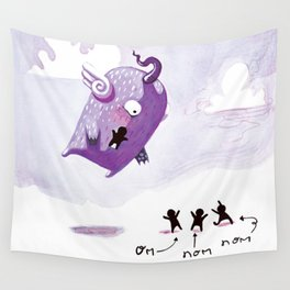 People Eater Wall Tapestry