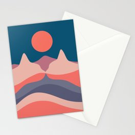 Cat Landscape 29 Stationery Cards