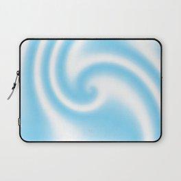 Blue Raspberry Ribbon Candy Fractal Laptop Sleeve