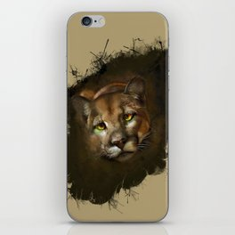 The cougar iPhone Skin