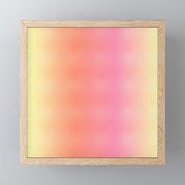 Pale Rainbow Framed Mini Art Print