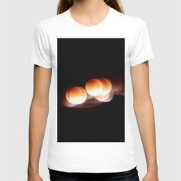 Super Blue Blood Moon Trails T-shirt