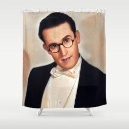 Harold Lloyd, Hollywood Legend Shower Curtain