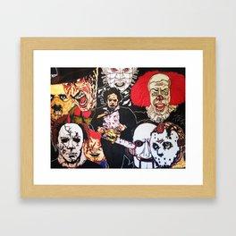 Hollywood Horror Framed Art Print
