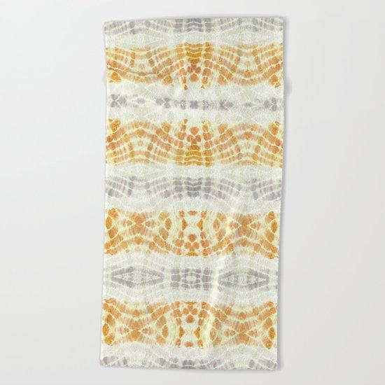 BOHOCHIC MANDARINA DYE Beach Towel
